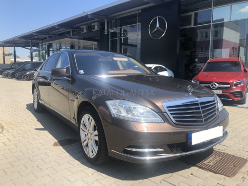 Fotografia Mercedes-Benz S 350 CDI 4MATIC BlueEFFICIENCY L